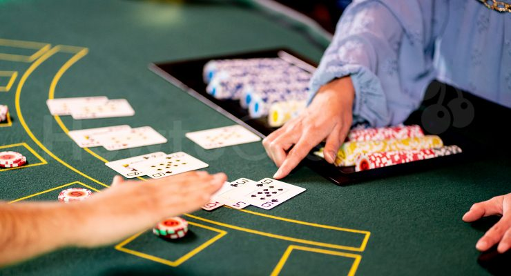 Stand Option in Blackjack