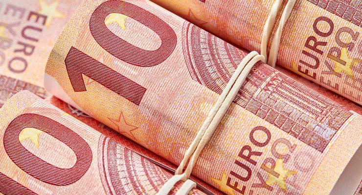 十欧元的钞票