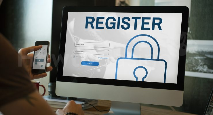 Online-rekisteröintilomake