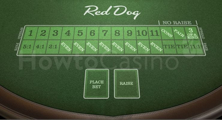 बेटसॉफ्ट रेड डॉग टेबल