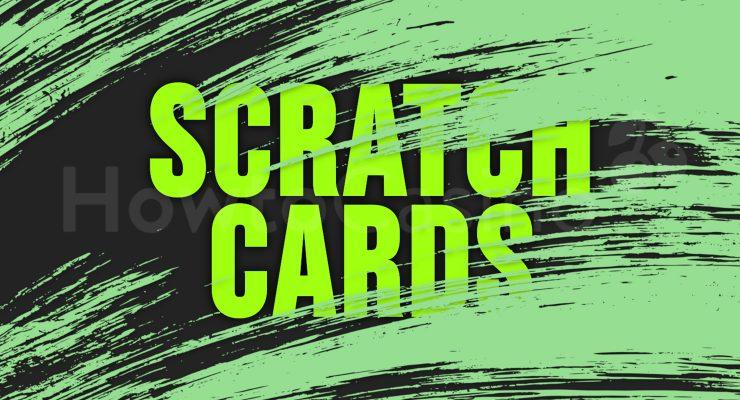 Scratch Cards Illustration