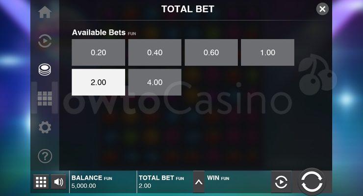Video Slot Bet Selection