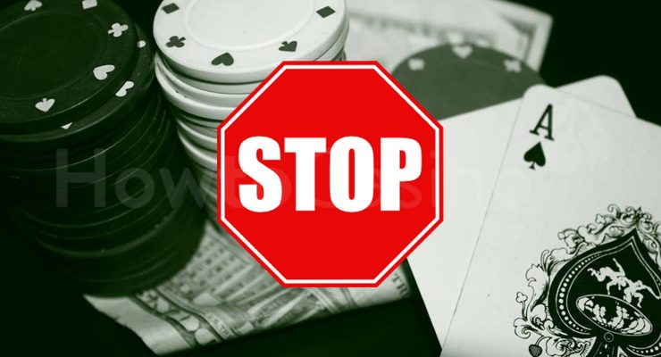หยุดการพนัน