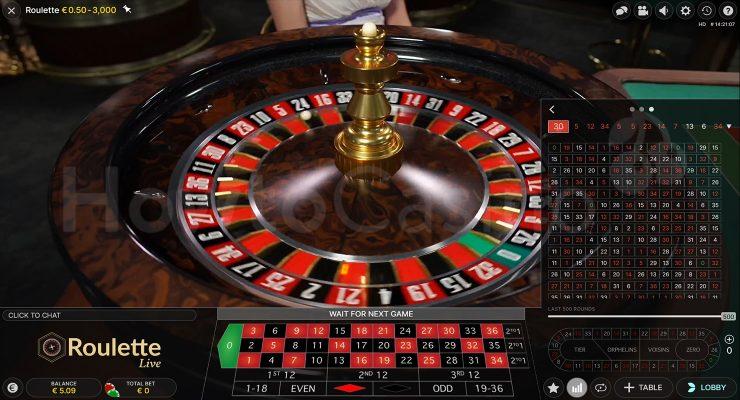 Live Roulette Rennstrecke