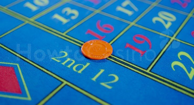 Roulette Six Numbers Bet