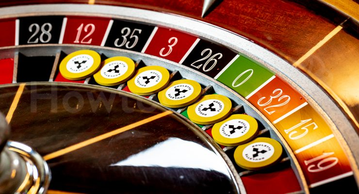 Roulette Chips on Zero Bet Numbers