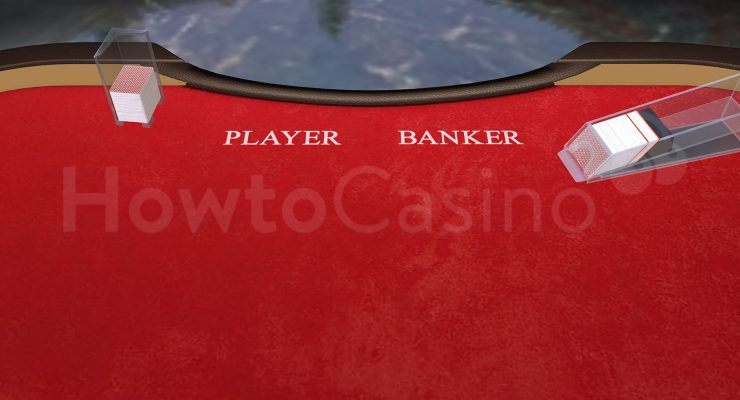 First Look Baccarat Table