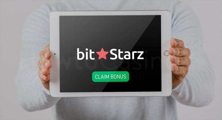 Bitstarz कैसीनो बोनस के साथ iPad दिखा रहा है