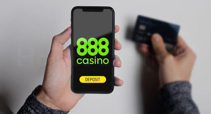888 कैसीनो में जमा करना