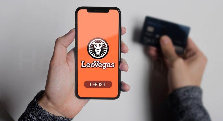 LeoVegas कैसीनो में जमा करना