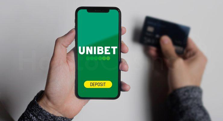 पर जमा करना Unibet कैसिनो