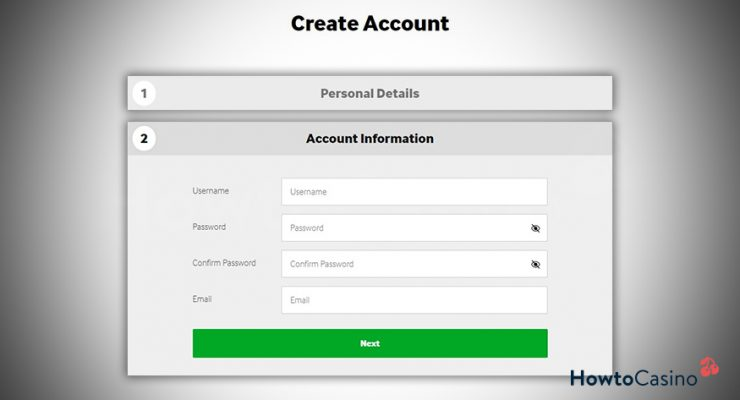 Add Your Account Information