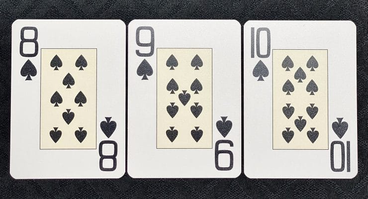 Eight, Nine and Tens of Spades