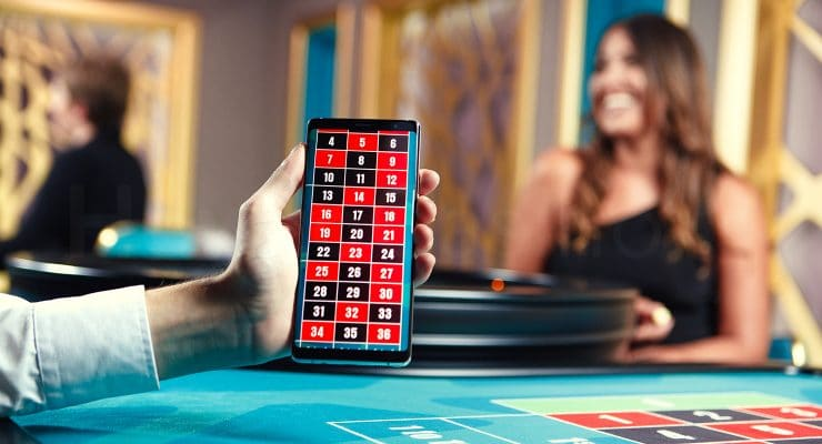 Checking if Live Dealer game roulette is streaming in real time