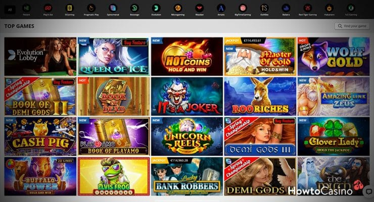 Play Your Favourite Casino Games