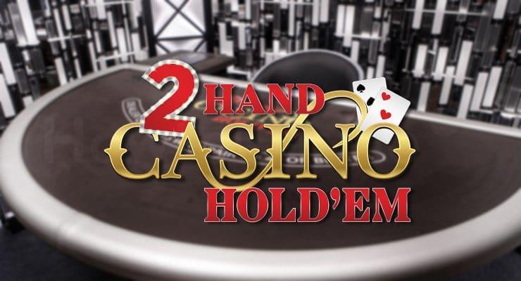 Evolution 2 Hand Casino Hold'em 로고