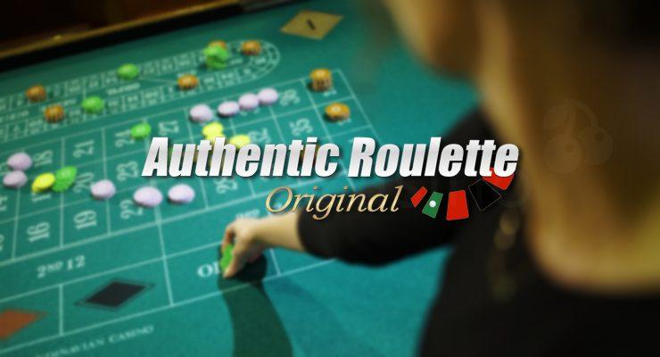 Logoya otantîk Roulette Original