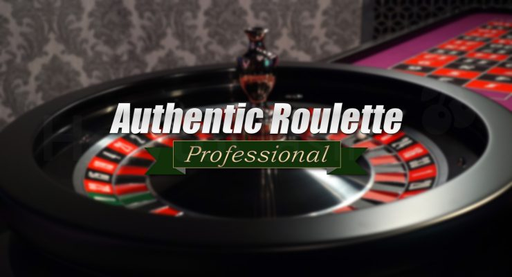 Logoya Professional Roulette otantîk