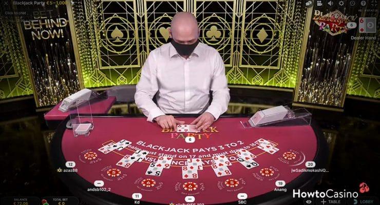 How Blackjack Party Works