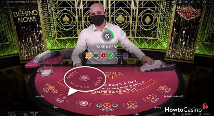 Blackjack Party Side Bets