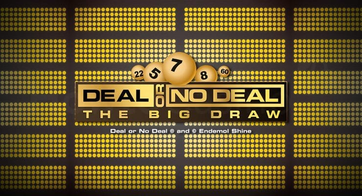 Playtech Deal or No Deal The Big Draw logo