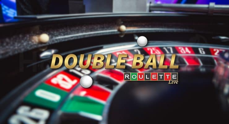 Evolution Double Ball Roulette 로고