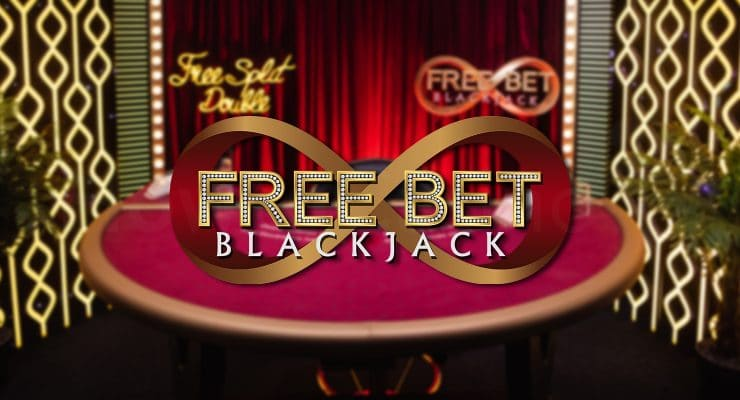 Evolution Free Bet Blackjack logo
