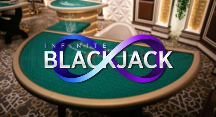 Evolution Live Infinite Blackjack-Logo