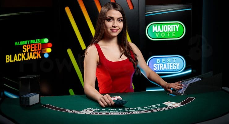 Playtech Mehrheitsregeln Blackjack Live Dealer