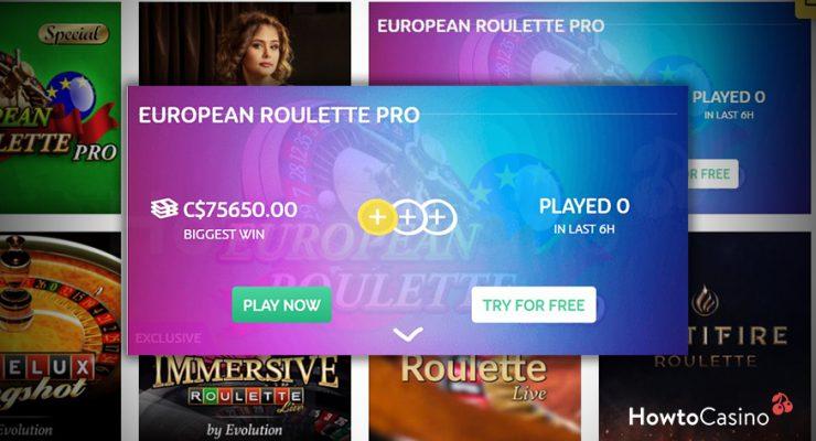 Play Demo Online Games Roulette