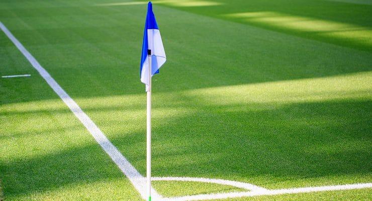 კუთხის დროშა ესპანეთის სტადიონზე