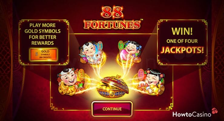 Features of 88 Fortunes