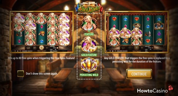 Bierhaus Game Features