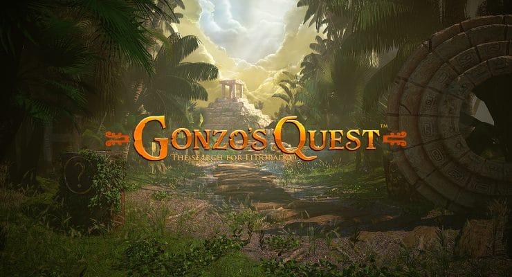 NetEnt Gonzo's Quest slot logo