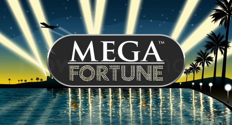 NetEnt Mega Fortune slot logo