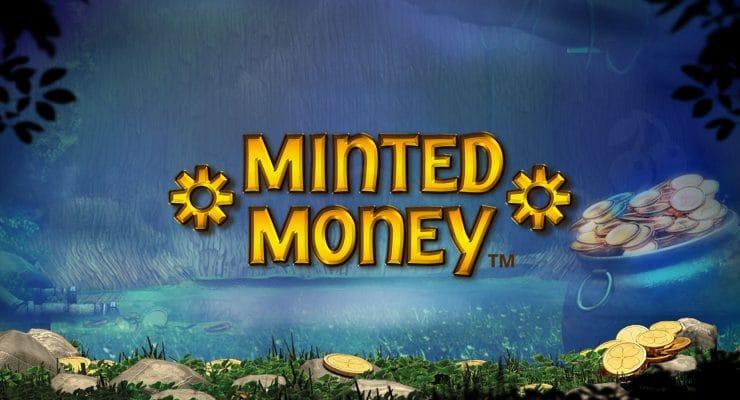 Playtech Minted Money slot logo