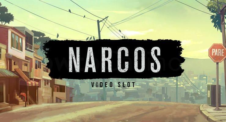 NetEnt Narcos slot logo