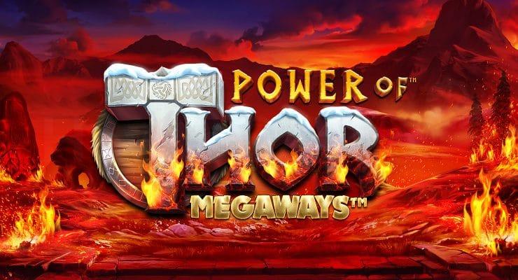 Pragmatic Play Power of Thor Megaways slot logo