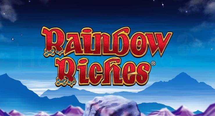 Barcrest Rainbow Riches slot logo