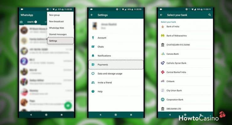 WhatsApp 결제 기능 활성화