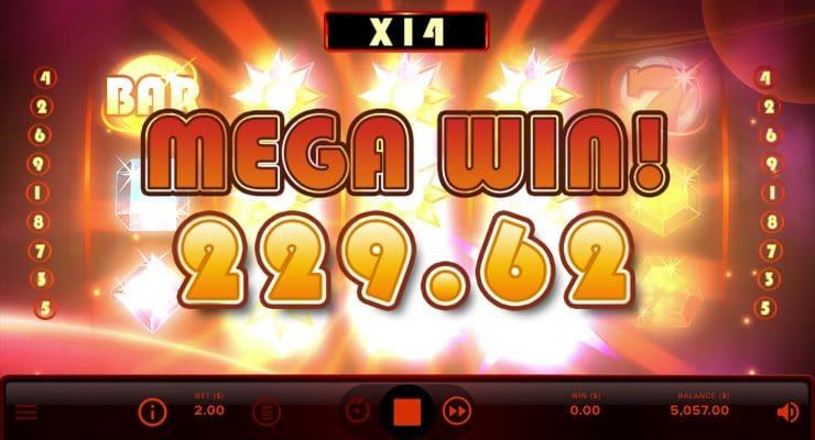 Starbrust XXXtreme slot mega win