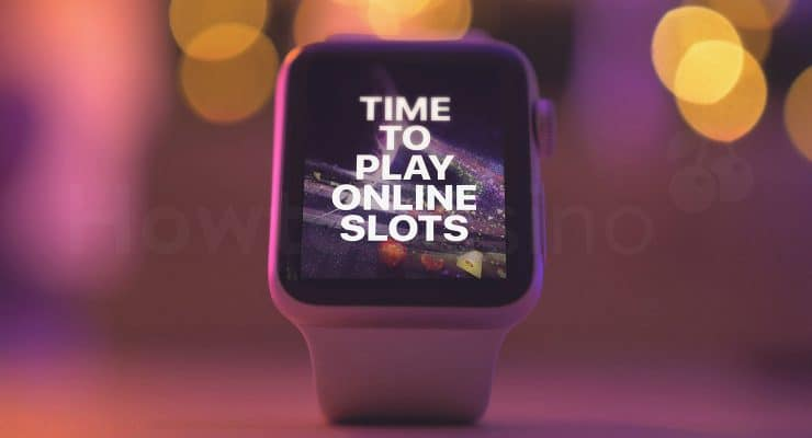 Smart watch slots notification