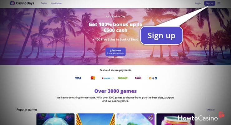 Visit the Casino Days Official Website to Get Started
